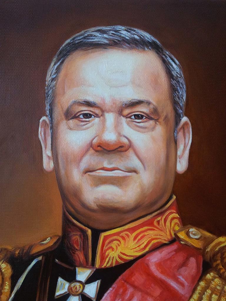 Портрет маслом на холсте в Новокузнецке
