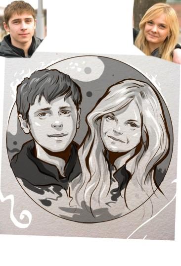 Заказать портрет на годовщину свадьбы в Новокузнецке
