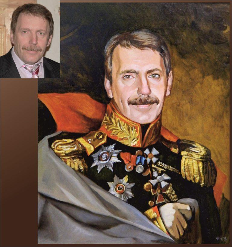 Настоящий портрет маслом на заказ в Новокузнецке…