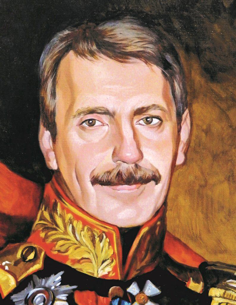 портрет маслом по фото Новокузнецк