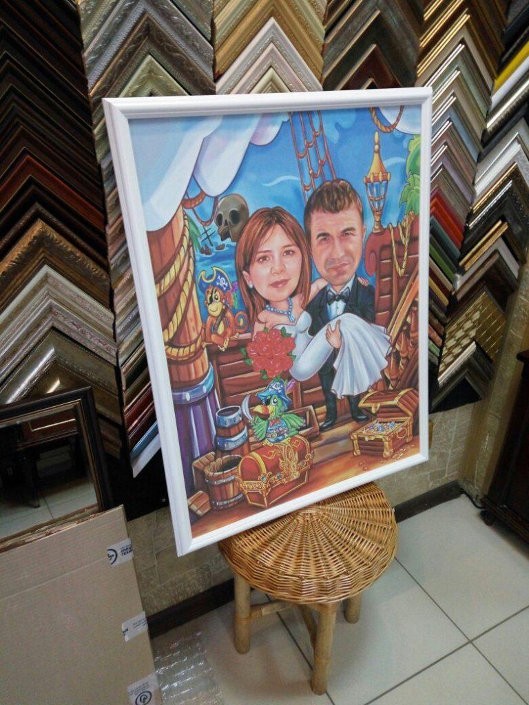 портрет шарж на заказ в Новокузнецке