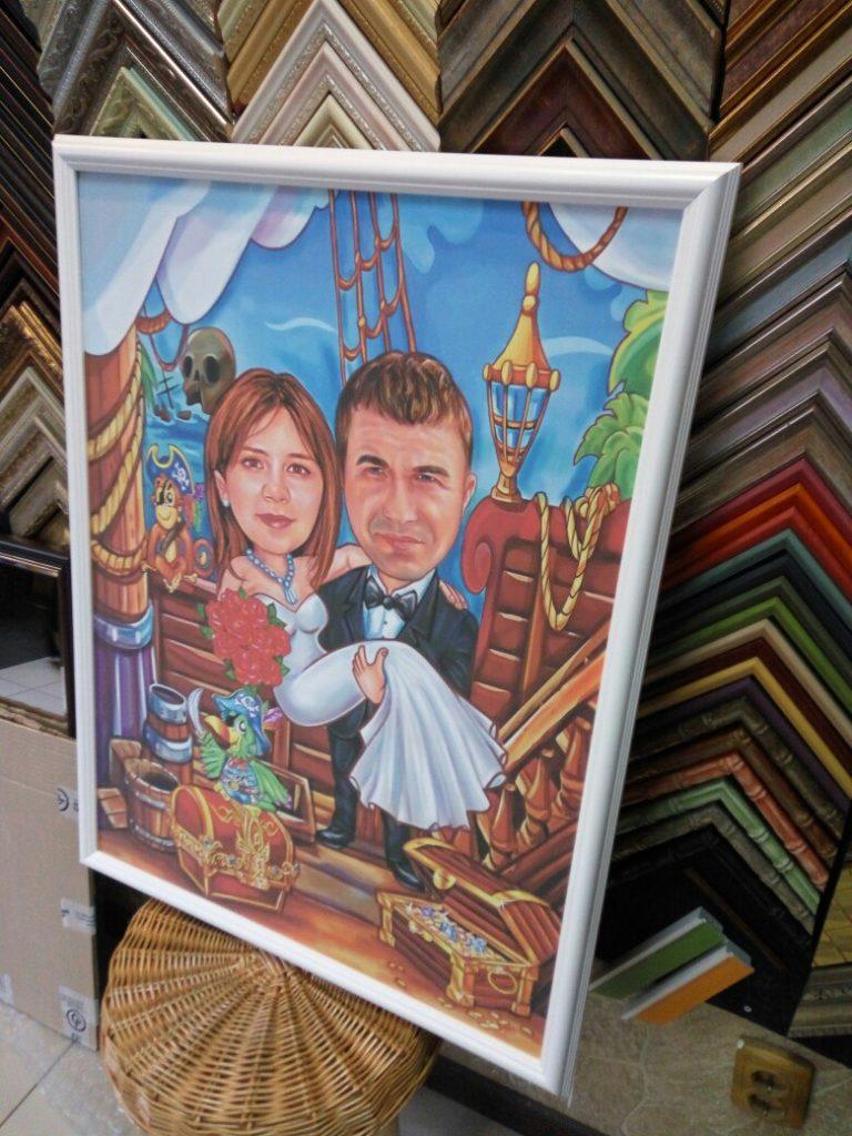 шарж по фото на заказ в Новокузнецке