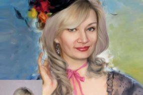 Заказать арт портрет по фото на холсте в Новокузнецке