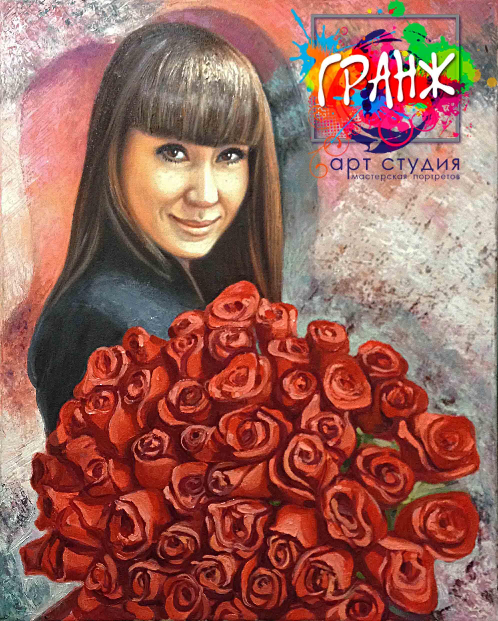 Заказать портрет маслом по фотографии в Новокузнецке