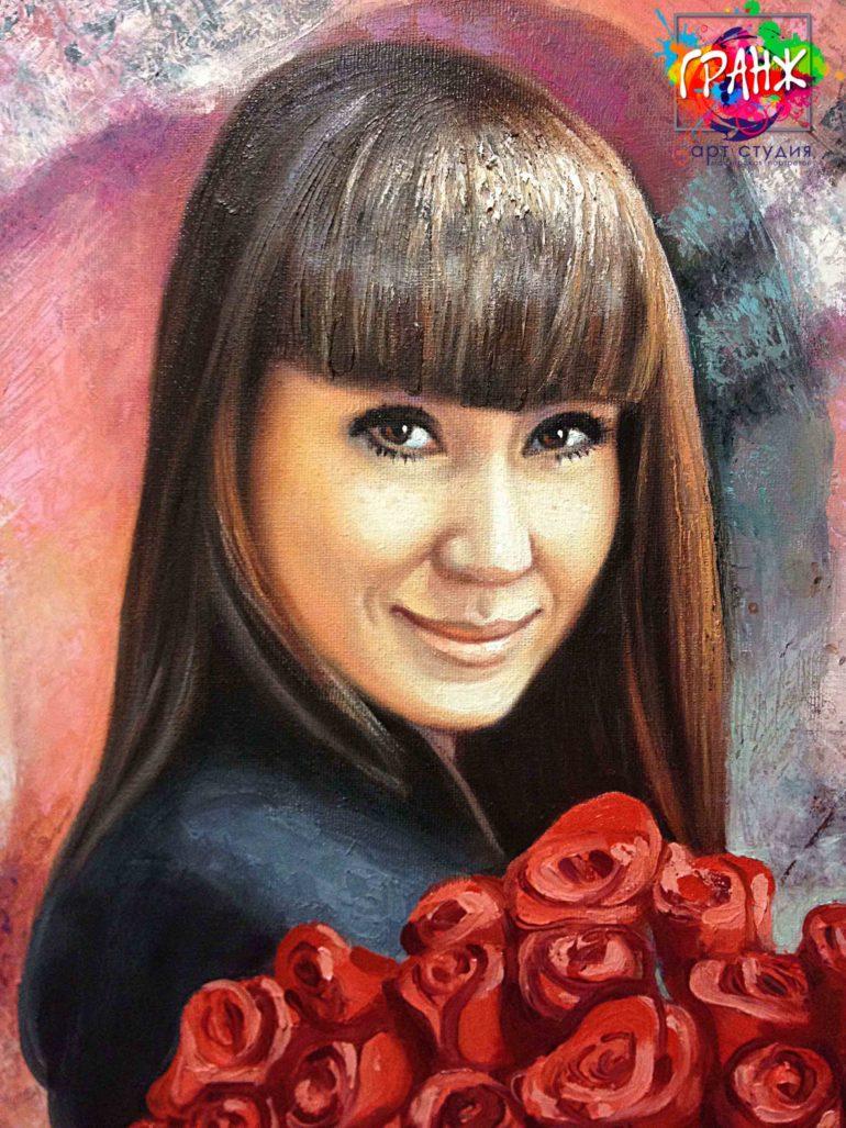 Заказать портрет маслом в Новокузнецке